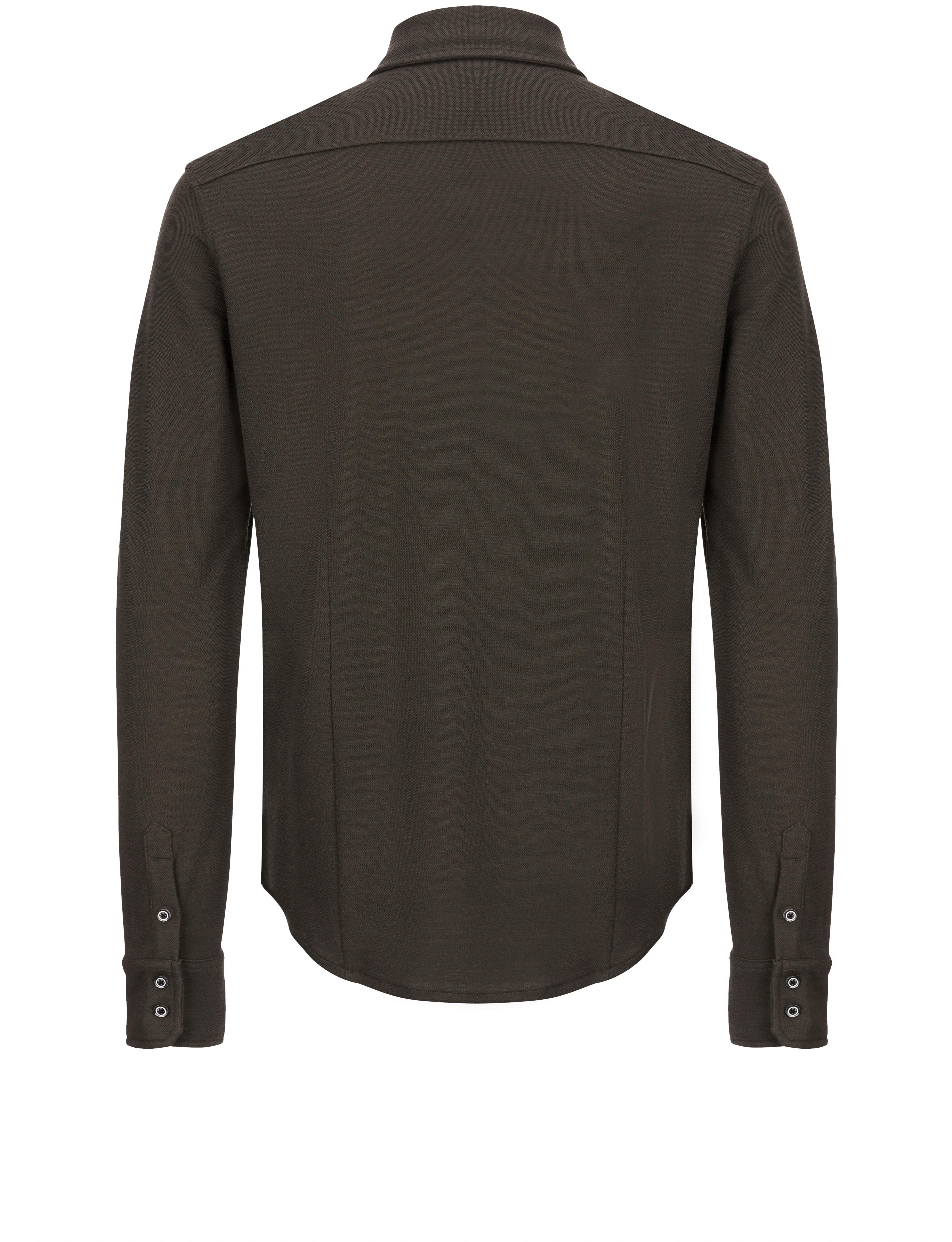 super.natural Comfort - T-shirt manches longues Homme - marron sur ... 1d277dce24ca